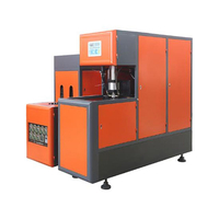 Semi Automatic 5L PET Bottle Making Machine