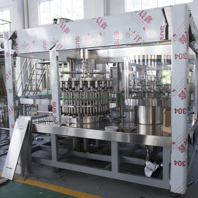 Automatic Juice Filling Machine