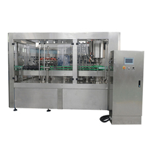 Full Automatic Soft Drinks Filling Capping Machine For Glass Bottle