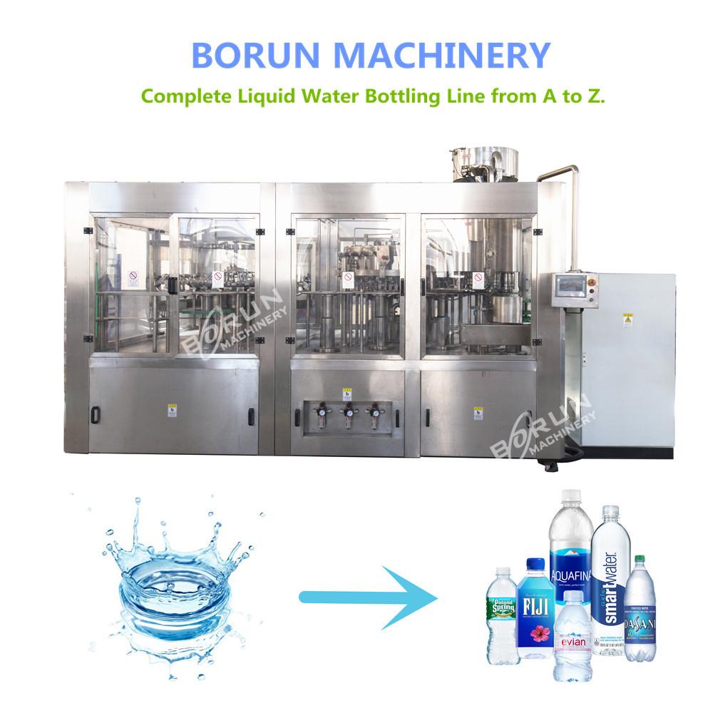 CGF24-24-8 Plastic Bottle Mineral Water Filling Bottling
