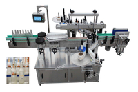 Automatic Square / Round Bottle Double Sided Adhesive Labeling Machine
